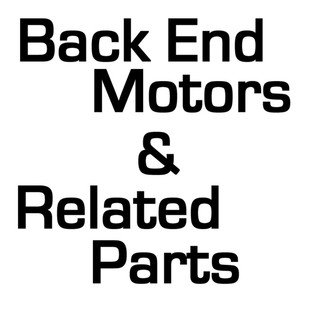 Back End Motors & Related Parts